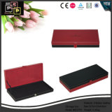 Rotes ledernes Großhandelsgeschenk-verpackenablagekasten (6037)