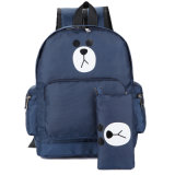 Saco de ombro com crianças mochila Escolar Cartoon levar mochila com caixa de lápis