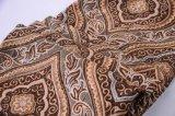 Упаковка ткани софы синеля в Rolls