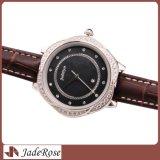 스테인리스 다이아몬드 숙녀 손목 시계는, 우아한 숙녀 시계를 모양 짓는다