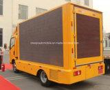 HOWO LED de 4X2 del vehículo de publicidad móvil de 5 toneladas de camiones de la pantalla de LED