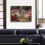 Nuevo cuadro de Haning de la pared de la pintura de la lona del petróleo del estilo HD con el marco para el hogar, decoración del restaurante
