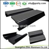 Venta directa de fábrica de aluminio recubierto de perfil para coche