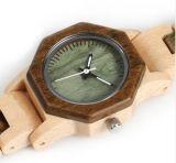Reloj de madera de calidad superior 2018 para la mujer