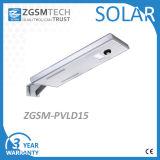 40W tout dans un réverbère solaire Integrated avec la batterie et le panneau solaire