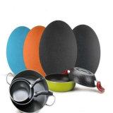 La couleur couché Cercle en aluminium/aluminium pour une batterie de cuisine (A1100 1050 3003)