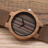 Reloj de madera del estilo 2018 al por mayor del cuarzo de Japón nuevos