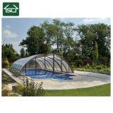 Tela de vidro piscina exterior cobrir com alta qualidade na China