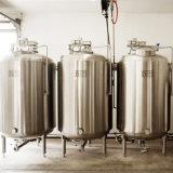 Aço inoxidável que serve cerveja servindo vaso de pressão do tanque