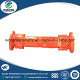 Eje de cardán diseñado SWC de la alta calidad W51.5 L=870 para el motor de petróleo usado en maquinaria del aparejo de la perforación petrolífera