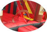 Kundenspezifischer aufblasbarer Innenprahler für Kidsbirthday Partei-aufblasbares Prahler-Plättchen Belüftung-springendes Schloss-Bett für Kinder