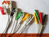 AAMI DIN стиле провода отведений ЭКГ