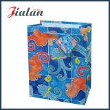 Bolso de ropa de papel barato impreso de encargo de la insignia del diseño del cumpleaños del día de fiesta