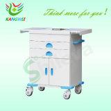 비상사태 트롤리 구급용 이동할 수 있는 손수레 호화스러운 구급용 손수레 Slv-C4010