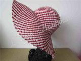 Señora Sun Hats del sombrero de ala de la manera