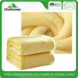 La promozione ispessisce la coperta dorata 100cm*120cm 320g delle lane del visone