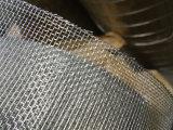 Elettro e rete metallica quadrata galvanizzata tuffata calda