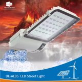 Luz de calle incorporada de la batería de litio de la lámpara solar del placer De-Al05 LED