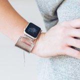 Pulseiras de metal Iwatch Substituição correia de aço inoxidável para Apple Assista a Série 3