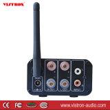 Audio amplificatore ad alta fedeltà stereo dell'amplificatore autoalimentato della casa 100W & della cuffia di musica della ricevente di Bluetooth con l'antenna di FM, telecomando