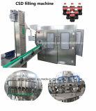 Bouteille en Plastique automatique de boissons gazeuses boissons gazéifiées d'usine d'embouteillage de remplissage