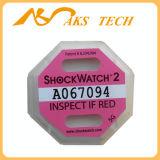 5g Shockwatch het Etiket van het Bewijs van de Trilling van het Horloge van de Schok van 2 G