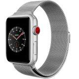 Starke magnetische von Mailand Schleifen-Edelstahl-Abwechslung Iwatch Brücke für Apple-Uhr