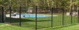 Jardin noir de qualité clôturant pour la frontière de sécurité de syndicat de prix ferme
