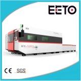 máquina de corte de fibra a laser Ipg 1500W com Banco Duplo
