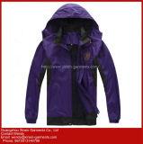 Jaquetas Unissexo Nylon encapuzados personalizado com o seu logotipo bordados de outono (J290)