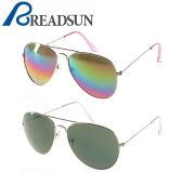 Las gafas de sol clásicas unisex populares más nuevas del acero inoxidable del metal