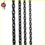 Категория 80 легированная сталь с высоким пределом упругости Hot-DIP оцинкованных подъемной цепи