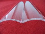 Effacer ou d'Arc de la plaque de verre de quartz transparent avec une très grande pureté