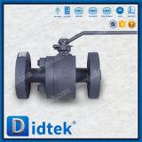Valvola a sfera messa molle di galleggiamento dell'acciaio di getto di Didtek