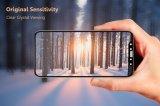 accesorios de la célula del protector de la pantalla del vidrio Tempered de la impresión de Silking de la cubierta completa 3D/del teléfono móvil para el iPhone X