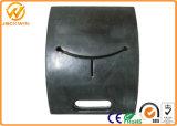 Material de borracha portátil preto Base de poste / base de borracha