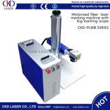 Máquina portátil da marcação do laser da fibra do telefone da prata do ouro do metal do Ce