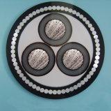 XLPE isoleerde de Gepantserde Middelgrote Kabel van het Voltage