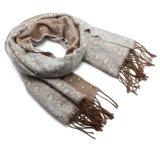 Lenço de Inverno da senhora Forma Acrílico Confeção de malhas (YKY4630)