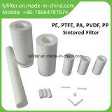 OEM Gesinterde Patroon van de Micro- Poreuze Filter van het Polymeer voor Industrieel en Huishouden