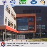 Costruzione chiara prefabbricata della struttura d'acciaio di qualità su ordinazione