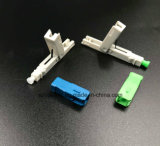 ネットワークおよび無線電信で加えられるパッチ・コードのための光ファイバ速いコネクター