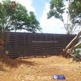 Панели загородки напольного дешевого Weave алюминиевые WPC сада для сбывания