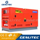 50Hz generador insonoro clasificado trifásico del diesel de la potencia 37.5kVA 30kw Yangdong