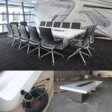 高品質の執行部の家具の固体マルチメディアのタッチ画面の会議の席