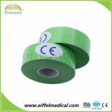 Imperméable de haute qualité coton bande perforée thérapeutique musculaire Kinésiologie