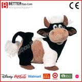 En71 past OEM het Pluche Gevulde Dierlijke Zachte Stuk speelgoed van de Koe voor de Jonge geitjes van de Baby aan