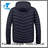 Зимние колпачковая вниз куртка для мужчин