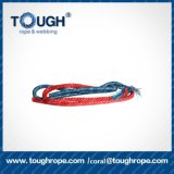 Boa qualidade que puxa a corda de barco que posiciona no mar cordas