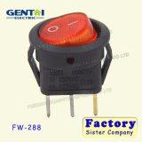 3 interruptor de eje de balancín iluminado Pin de 16A 250 VAC T125